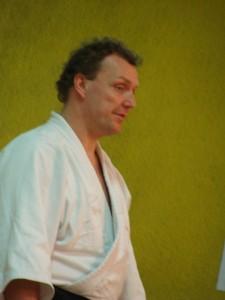 Sensei Rudy Vermeulen, Aikidoclub Middelkerke Ieper